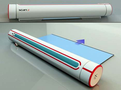 Slim Sexy Scanner Looks Like A Saber
