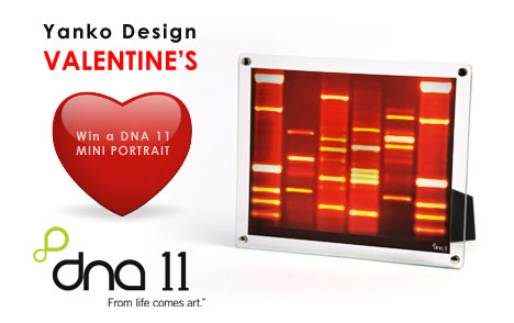 Win A DNA Mini Portrait This Valentines (UPDATE)