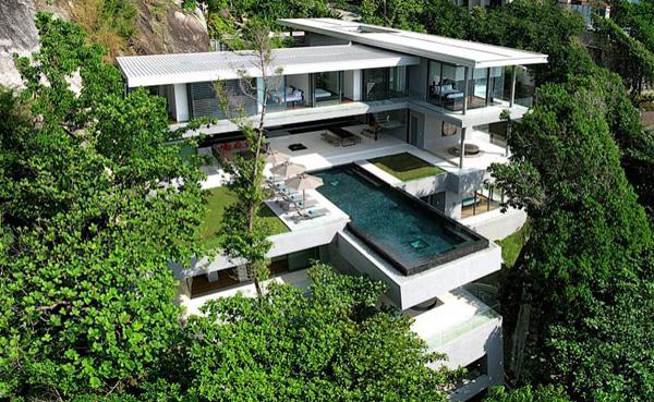 Imaginative Architecture in Natural Seclusion
