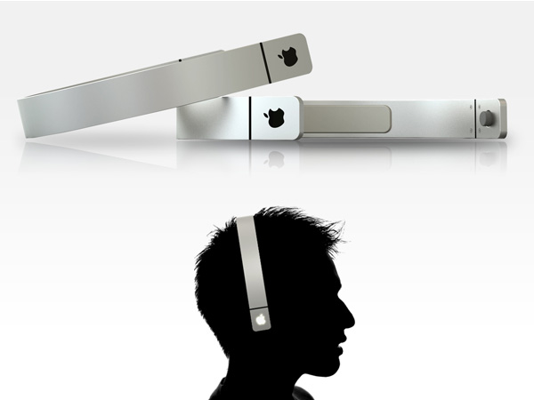 Apple Headphones Concept by Sang-hoon Lee
