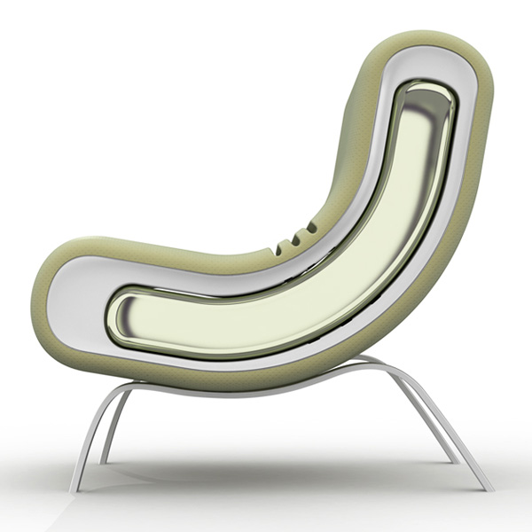 "Armchair ""IN"" by Renzo Menegon"
