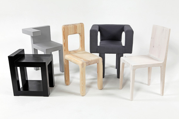Chairs by Nick Ross and Fraser Reid