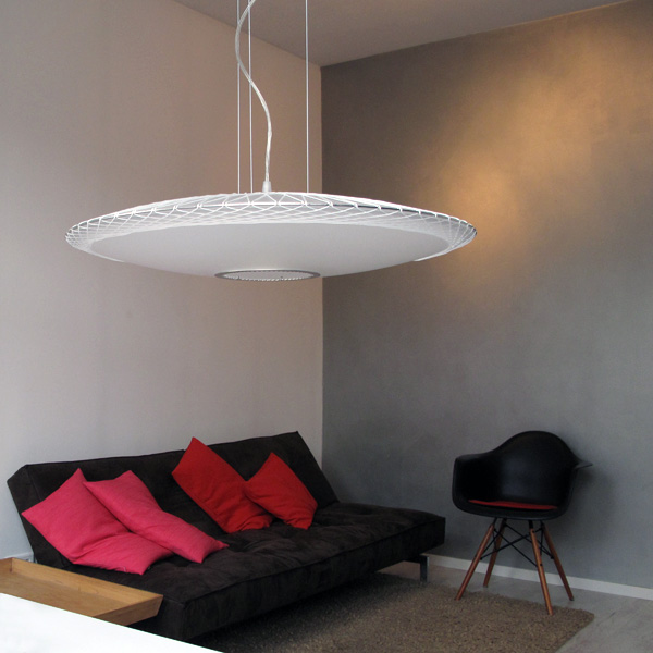 Disque - Pendant Lamp by Marc van der Voorn