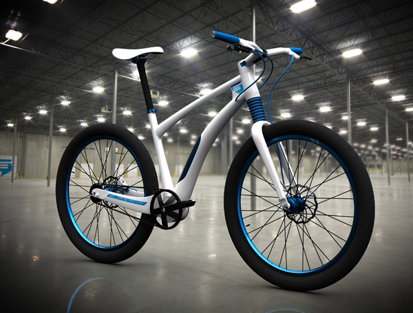 Electric Bicycle by Vojtech Sojka for Superior Bikes