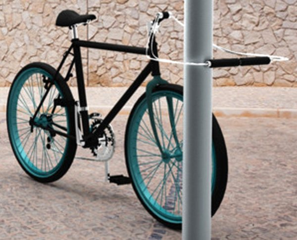 Handlebar Bike Lock Yanko Design
