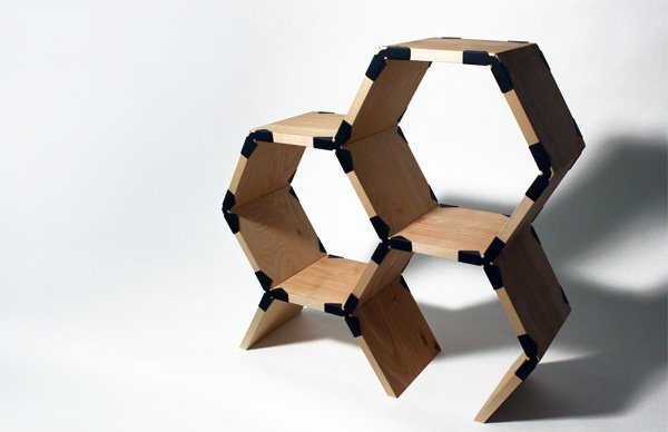 Hexa-Shelf by Sam Holmes