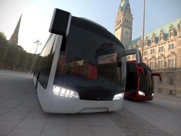 Cityline - Public Transportation Concept by Rafal Pilat & Michal Bonikowski