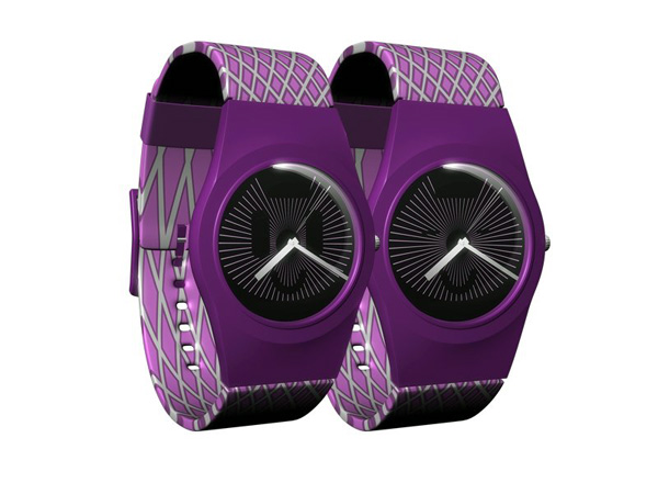 Moire Seconds Watch Concept by Zoltan B. Kecskemeti