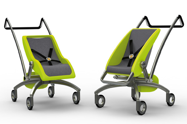Monocart – Adaptable Buggy for Kids by Ka Wai Ng