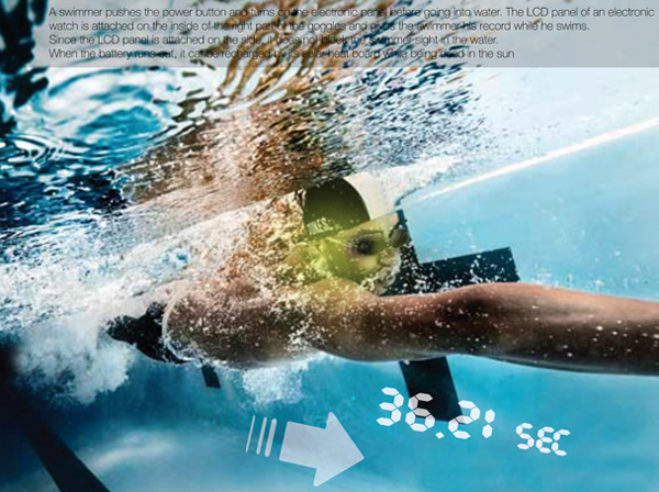 My Pace Goggle – Swimming Goggles by Joh Minhoo