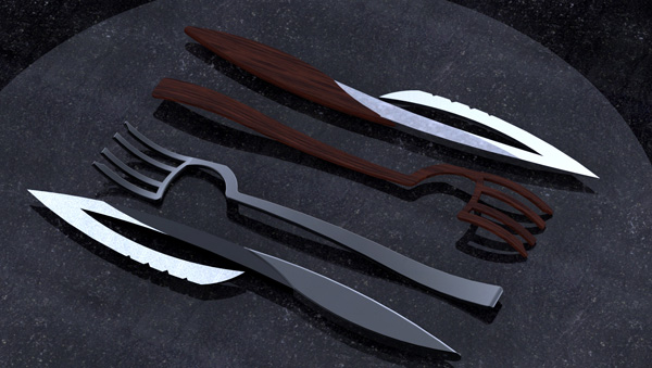 Cutlery Concept by Jeff Pinard