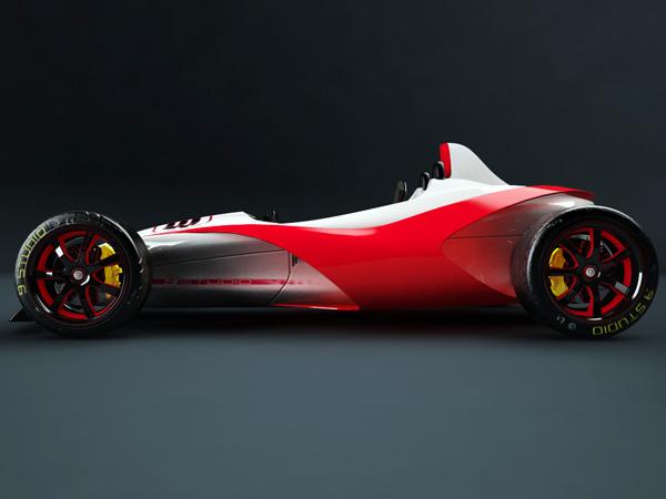 Reptile - Hybric Concept Car by Arturo Arino