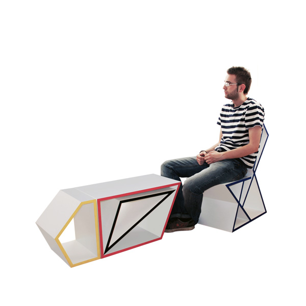 Shape & Function - Modular Furniture by Sanjin Halilovic