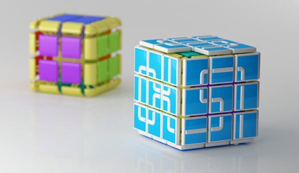 The Smart Cube - New Rubik Cube Game by Manole Diana
