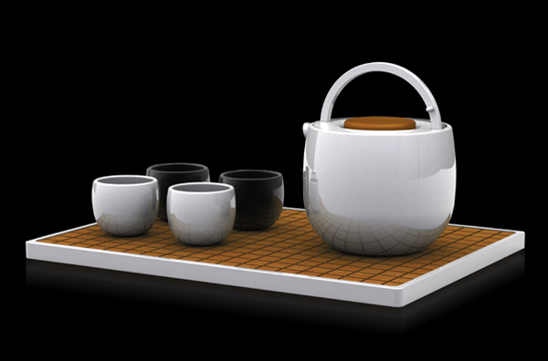 Tea Set by Arthur Xin (Se Xin)