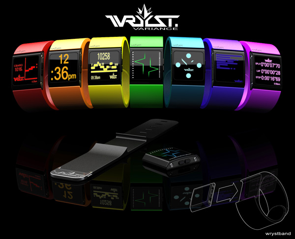 Wryst Variance Watch Concept by Ben Pritz