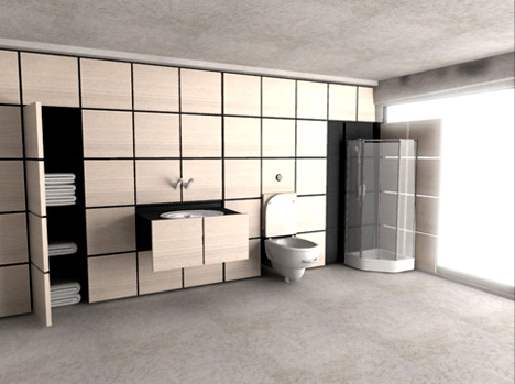Oneself Bathroom For Person Who Lives Itself Yanko