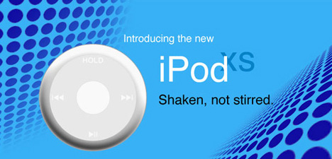 Coin Sized iPod by Jlennon
