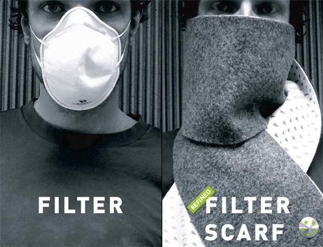 Filter Scarf
