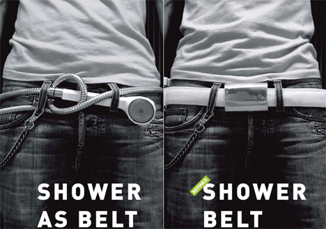 Shower Belt by Carl Hagerling, Claes Nellestam & Martin Prame