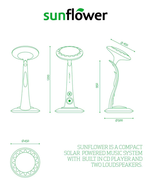 SunFlower – Solar Power Station by Ricardo Baiao