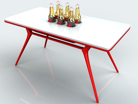 Beertable by Michael Kritzer
