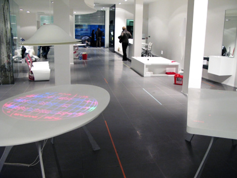 Corian Roulette Table by Moritz Waldemeyer