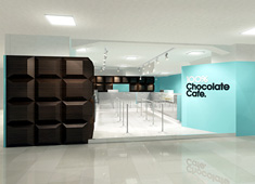100 Percent Chocolate Cafe by Wonder Wall Studio