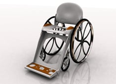 Freedom - Collapsible Commode Chair by Julie Clyde