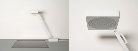 Lamp Style Air Purification System by Ransmeier & Floyd