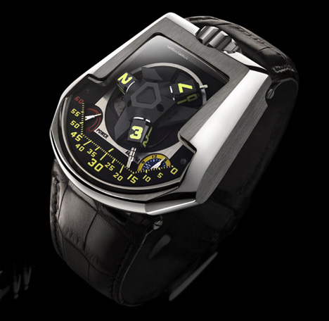 Urwerk 201 – Revolving Satellite Watch