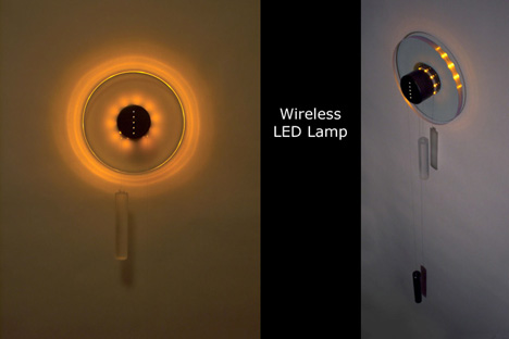 Rechargeable Cordless LED Lamp by Balazs Puspok