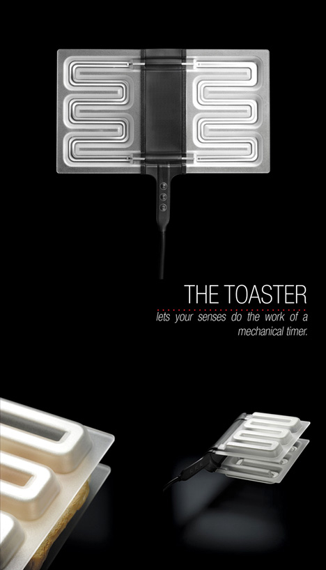 Ultrason Property Toaster by Thomas Brisebras