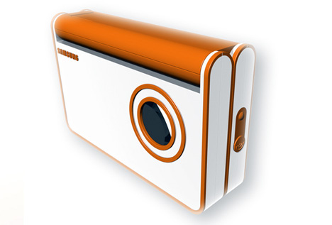 FlapCam – Folding Digital Camera by Matthias Lange