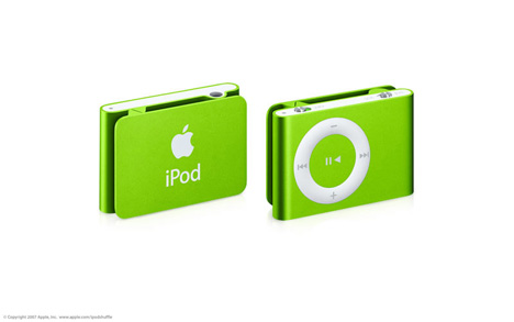 Put Some Color On. iPod Shuffle