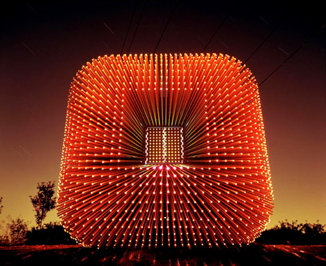 Sitooterie – Cube with 5000 Long Windows by Heatherwick Studio