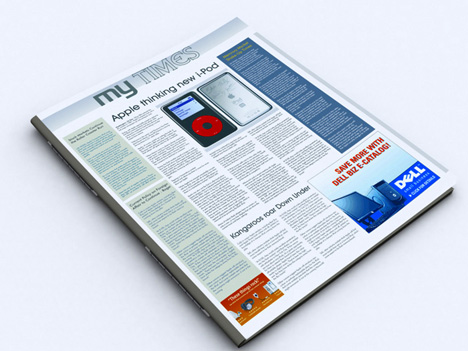 MyTimes – Electronic Newspaper by Alok Chandel