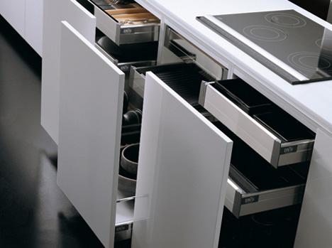 Effeti's New Kitchen L'Evoluzione by Giancarlo Vegni | Yanko Design