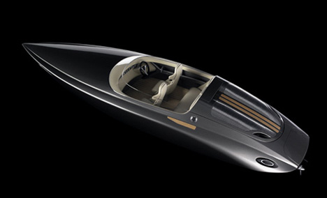 Fearless Yacht designed by Porsche Design