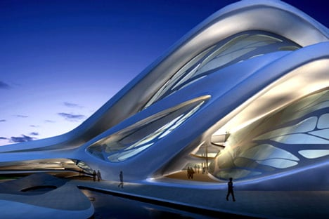 Abu Dhabi Performing Arts Centre by Zaha Hadid