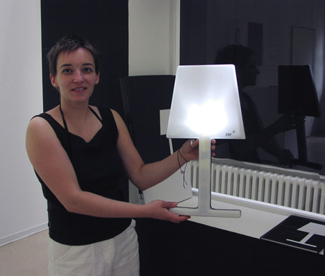 SW – Solar-powered Lamp by Maria Hamprecht