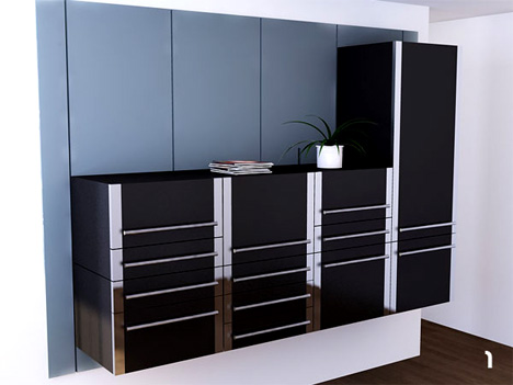 Lift – Modular Kitchen by Michel Cornu
