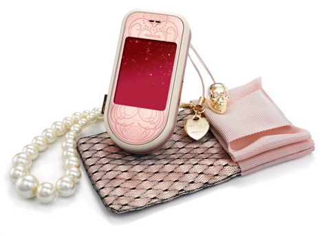 Nokia 7373 Special Edition by Giambattista Valli