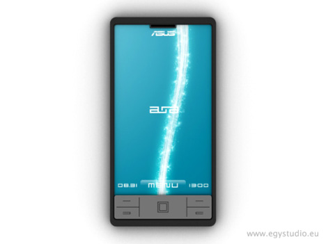 Asus Aura Mobile Phone by Bogar Bence