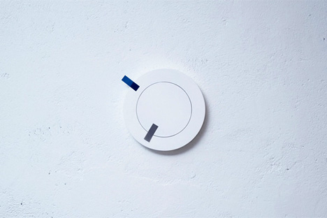 Put It Post-it Clock by Teruhiro Yanagihara