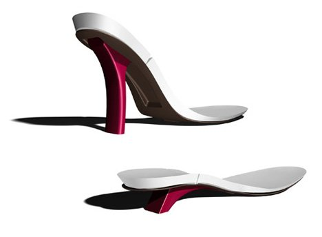 Footloose – Adjustable High Heels by Marte den Holllander