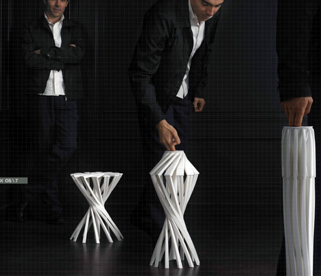 OneShot – Folding Chair by Patrick Jouin