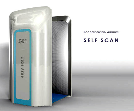 Self Scanner at Airports by Ceren Bagatar