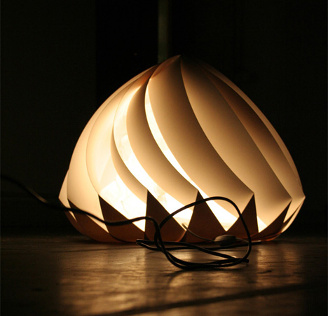 Floor Lamp Provides Controlled Lighting by Alice Van