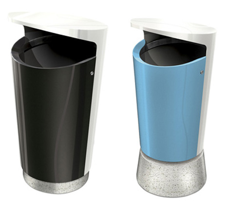 Bin80 –  Garbage Bin that Promotes Cleaner Environment by White Arkitekter